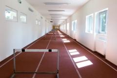 Atletická dráha - tunel