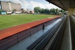 Atletická dráha - tribuna